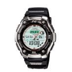 [200円割引クーポンあり]SPORTS GEAR 腕時計(フィッシング タイム機能付) カシオ計算機(CASIO) AQW-101J-1AJF