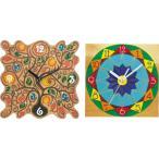 [200円割引クーポンあり]木彫時計セット 大 桂 ArTec (アーテック) ARTEC-005022