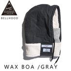 [200円割引クーポンあり]BELLHOOD WAX BOA GRAY BELLWOODMADE MFG CO. BWHWWXB2327★