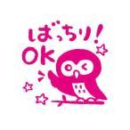 [200円割引クーポンあり]ティーチャー浸透印スタンプ ばっちりOK KODOMO NO KAO (こどものかお) G0616-071★
