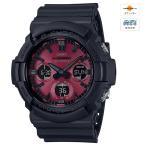 G-SHOCK Black and Red Series MULTIBAND6 ソーラー電波時計 CASIO (カシオ) GAW-100AR-1AJF★