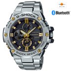 [200円割引クーポンあり]G-SHOCK G-STEEL Bluetooth通信機能 カシオ計算機(CASIO) GST-B100D-1A9JF