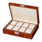 [200円割引クーポンあり]木製時計8本収納ケース 薄木目 ライトブラウン LUHW (ローテンシュラガー) LU51010RD