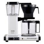 [割引クーポンあり]TECHNIVORM/テクニホルム MM741AO-MW モカマスターコーヒーメーカー (メタリックホワイト) KBGC741 A0