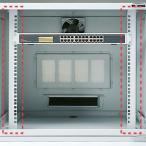 [200円割引クーポンあり]19インチマウント金具W650mm用ユニバーサルピッチ(10U) SANWA SUPPLY (サンワサプライ) MR-FA6519N