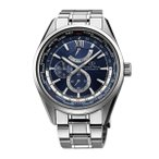 [200円割引クーポンあり]オリエントスター ワールドタイム ネイビー ORIENT (オリエント時計) WZ0071JC