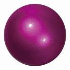メタリックボール 新体操手具 カラー ラズベリー サイズ 径18.5cm M-207MF-RS
