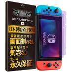 任天堂スイッチ 保護フィルム ブルーライト ガラスフィルム 2枚入 カバー Nintendo Switch 液晶保護フィルム 送料無料 表面硬度9H Less is More 公式 YX-2001