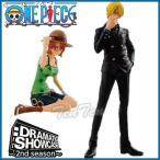 ワンピース フィギュア DRAMATIC SHOWCASE 2nd season vol.2 ドラマチックショーケース サンジ ナミ