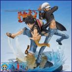 ワンピース フィギュア フィギュアーツZERO モンキー・D・ルフィ&トラファルガー・ロー -5th Anniversary Edition-