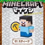 マインクラフト ケシゴム キャラボックス01 スティーブ マイケシ Minecraft 消しゴム 文具