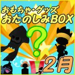 ショッピングBOX おたのしみBOX (おもちゃVol.2) 2月BOX 何が届くかはお楽しみ おもちゃ・グッズ福袋 数量限定 お楽しみボックス 代引不可