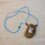 ネックレス ネコモチーフ 巾着袋 ラッキーポーチ ネコ