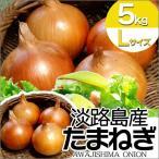 玉ねぎ たまねぎ L 5kg 淡路島 淡路産 玉葱 サラダたまねぎ