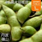 丹波篠山産 枝豆 早生 黒大豆枝豆 黒枝豆 さや 1kg 有機 オーガニック