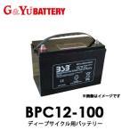 【送料無料】BPC12-100 G&Yuグローバルユアサ EB電池(ゴルフカート・産業機械) 【代引不可/配達時間指定不可/沖縄離島配送不可/同梱不可】