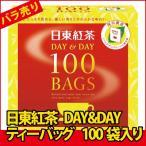 在庫限り!!(特売品)(バラ売り) 日東紅茶 DAY&DAY ティーバッグ 100袋入り