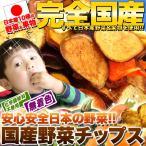 【お試し】国産フルーツ&野菜チップス50g(常温商品) 子供 おやつ やさいチップス ドライ野菜 お菓子