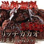 豆乳おからクッキー リッチカカオ 2.5kg チョコレート味 常温商品