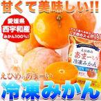 冷凍みかん 18個(6個入×3袋・約900〜1000g)/ 西宇和 みかん ミカン 冷凍みかん 冷凍 柑橘 フルーツ 果物 大量 丸ごと