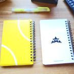 テニスコートの手帳型作戦ノート