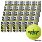 【10%ポイント対象商品:12月20日まで】ダンロップ DUNLOP テニスボール FORT(フォート)2球入 1箱(30缶/60球)