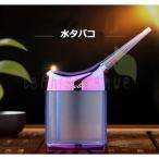 水パイプ ボトル型水タバコ ミニ水たばこ アクリル 喫煙器具 ブルー ブラック レッド ピンク