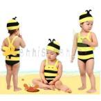 キッズ 女の子 男の子 韓国子供服 水着 夏 子供 海 女児用 スイムウェア 小学生 スクール ミツバチ 70 80 90 100 110 120 130cm