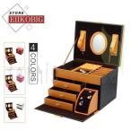 ジュエリーボックス アクセサリーケース アクセサリー収納 コンパクト ピアス ネックレス 指輪 保管 携帯 小物入れ 可愛い 旅行 大容量 宝石箱