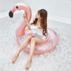 浮き輪 浮輪 うきわ 大人用 子供用 フロート フラミンゴ  かわいい 人気  家族 海 プール ビーチグッズ 遊具