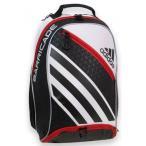 国内未入荷モデル!アディダス ADIDAS バリケード4バッグパック BarricadeIV Backpack (ブラック/ホワイト/レッド)