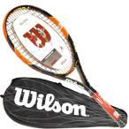 ウィルソン バーン26S WILSON BURN26S 2015年モデル 【ガット張り上げ済み】硬式テニスラケット【送料無料】[ジュニアラケット]
