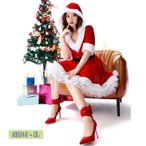 クリスマス コスプレ 衣装 レディース サンタ コスプレ サンタクロース衣装 コスチューム パーティードレス サンタ服 仮装 コスチューム 大人 サンタコス