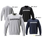 ディアドラ(DIADORA) テニスウェア メンズ TEAM Line マルチスウェットクルーネック AP6106