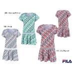 フィラテニス FILA TENNIS テニスウェア ワンピース 18SS VL1765  レディース  VL1765 11 フィラレッド M