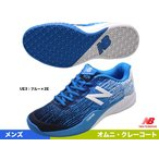 ニューバランス(new balance) テニスシューズ メンズ オムニクレーコート 2E MC906UE3