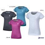 スリクソン(SRIXON) テニスウェア レディース ゲームシャツ SDP-1661W