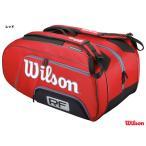 ウイルソン(Wilson) テニスバッグ フェデラー ELITE 12パック(レッド) WRZ830512