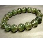 パワーストーン 天然石 グリーンルチル ルチルクォーツ 緑針水晶 ブレスレット 11?12mm Felistone