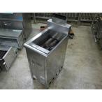中古厨房機器 F-087 北沢産業 業務用フライヤー F-35-D 2007年 W350×D600×H1050 (mm)