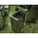 中古厨房機器 F-392 北沢産業 業務用フライヤー F-35-D 2008年 W350×D600×H1050 (mm)