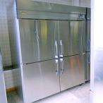 中古 業務用 縦型冷蔵庫 NS-KF543RM2 幅1500×奥行800×高さ1950 三相200V ナショナル 厨房機器 送料無料