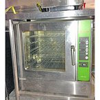 中古 業務用 コンベックオーブン SFCE5W 幅750×奥行690×高さ745 三相200V コメットカトウ 厨房機器 厨房用品 送料無