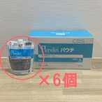 ポイント5倍(便座除菌クリーナー 詰め替え シーバイエス)ピュアレットパウチ 300ml 1ケース(6袋入り)
