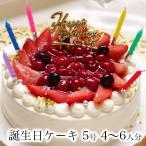 誕生日ケーキ 誕生日プレゼント バースデーケーキ ショートケーキ 苺 おしゃれ かわいい 北海道産 生クリーム / プレミアムホワイトベリー5号 4?6人分