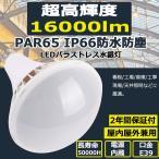 バラストレス水銀灯LED PAR65 E39 100W 16000LM IP66防水 バラストレス LED電球 水銀灯 LED化 レフランプ スポットライト 看板 高天井用LED照明 色選択 二年保証