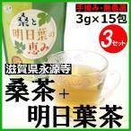 桑と明日葉の恵み 3g×15包×3袋 桑の葉茶 明日葉茶 健