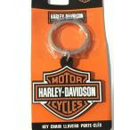 ラバーキーホルダー ハーレーダビッドソン キーリング Harley Davidson Logo Emblem Zinc Alloy Metal Key Chain Key Ring