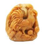 天然石 イエロージェイド 翡翠 にわとり 鶏 彫刻 1点もの 原石 コレクション パワーストーン スピリチュアル ヒーリング
