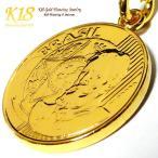ブラジル 18金 18K コーティング コイン ネックレス チェーン ゴールド ペンダント 世界 外国 海外 世界のコイン 40cm 45cm 50cm 60cm